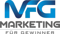 marketing für gewinner logo grau